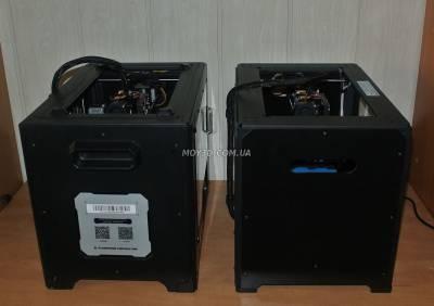 Вид слева 2х принтеров